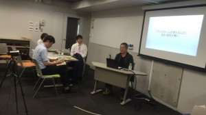 DiGRA JAPAN ゲームメディアSIG 第8回研究会収録風景